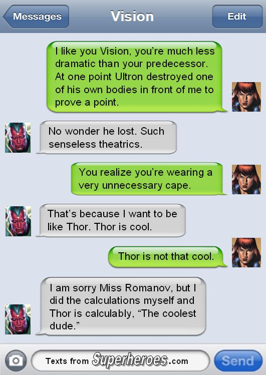 Superheros Texts that make me Happy Pt 2 - Imgur