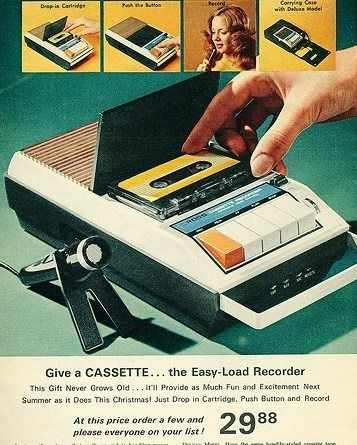 ROSS Easy-Load Recorder