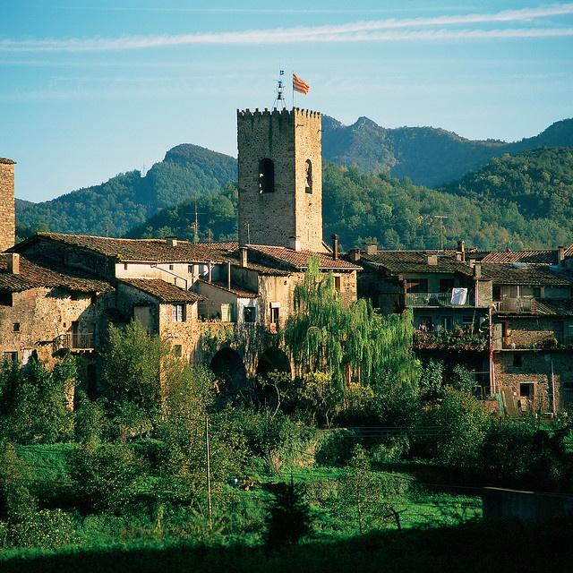 Santa Pau Garrotxa Catalonia