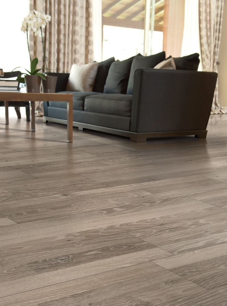 Cornwall Laminate Grey Flannel Oak Laminate Flooring