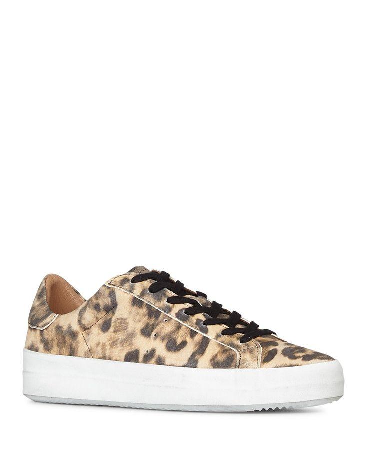 ALLSAINTS ALLSAINTS Women's Safia Leather Lace Up Sneakers. #allsaints #shoes #