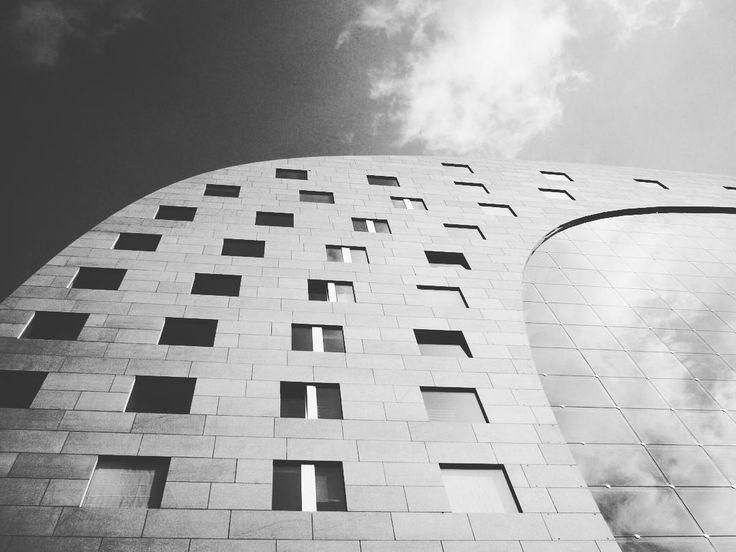"""""""storcete pure il naso #markthal #mvrdv #mvrdvarchitects #mvrdvarchitecture #rotterdam"""""""