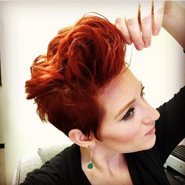Meisjes met roooooooode haren.....die zijn PRACHTIG! 14 superstoere rode korte kapsels! - Kapsels voor haar