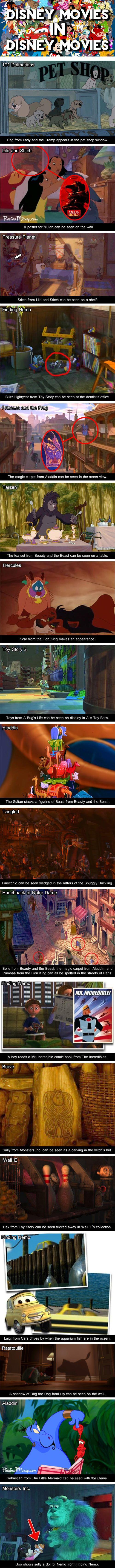 Disney Movies Inside Other Disney Movies...