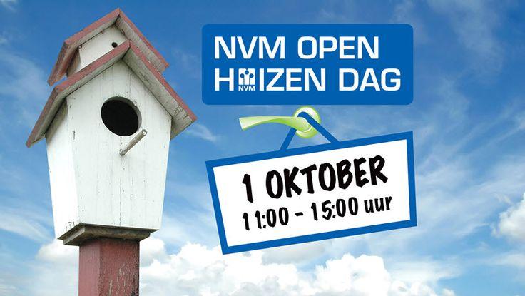 Aanstaande zaterdag 1 oktober is het weer zover: de NVM Open Huizen Dag. Woningverkopers en woningzoekers doen massaal mee aan deze belangrijke huizendag waarop woningen vrijblijvend bezichtigd kunnen worden. Weten welke woningen uit ons Alkmaarse aanbod mee doen? Klik hier: http://www.makelaar-alkmaar-dapper-vanaalst.nl/#utm_sguid=158143,cce73e0c-fe8d-5e0c-613d-222ada6e19d5