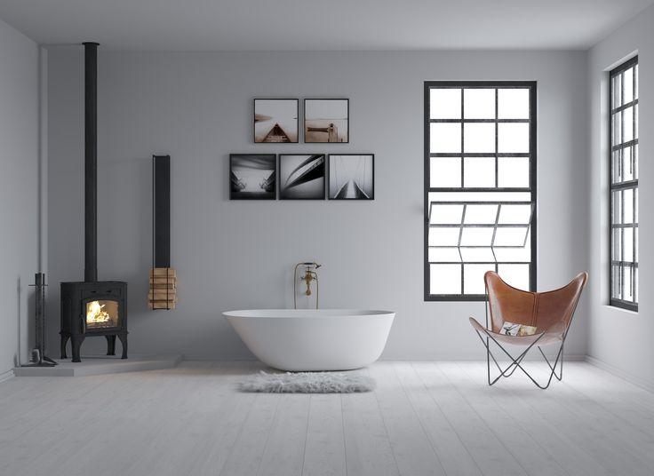 Copenhagen Bath - Muschel bathtub design by Mikal Harrsen