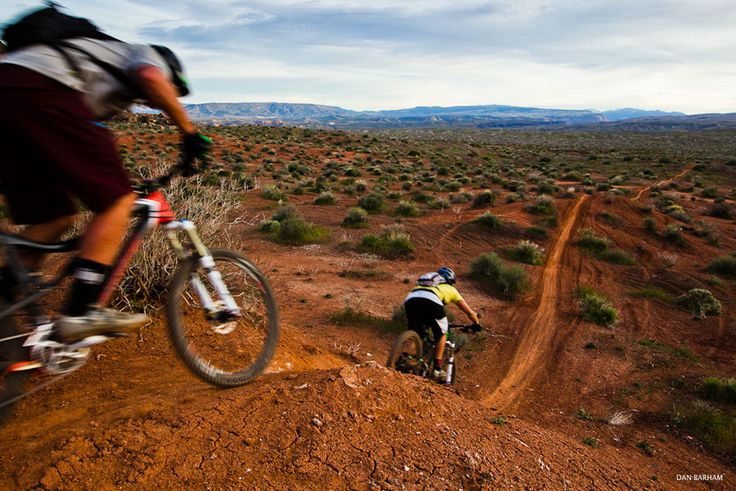 I've trail biked once and it was pretty intense and fun.