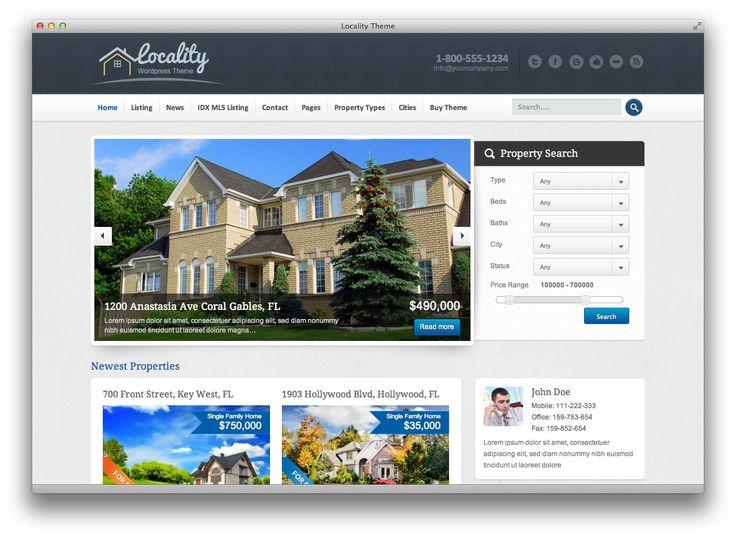 Locality - WordPress Theme