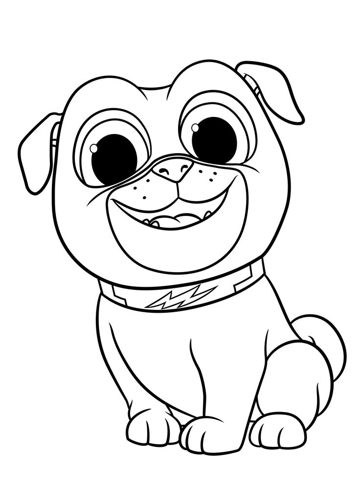 Coloring Ideas Puppy Dog Pals Coloring Page Pages Arenda ...