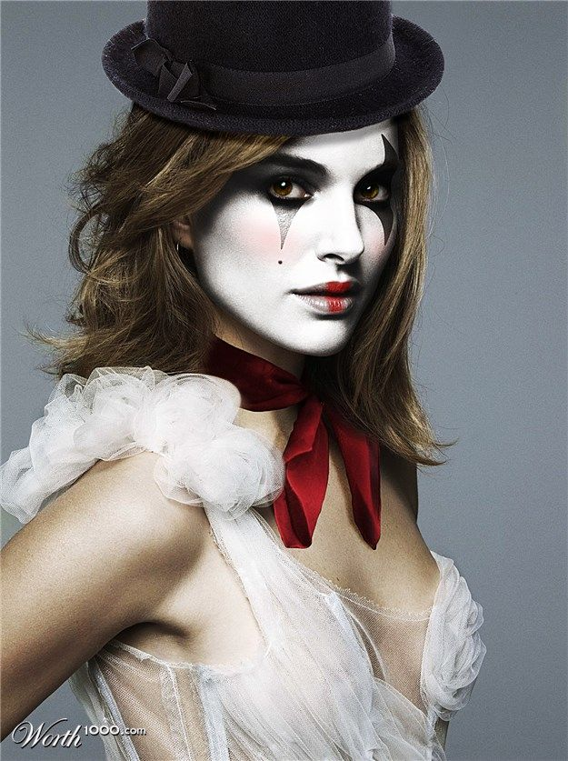 Natalie Portman-chic mime. #sexy