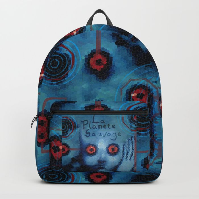 Buy La Planete Sauvage/ Fantastic Planet Backpack by scardesign.  #backpack #bag #campus #college #gym #gymbag #geek #nerd #animation #blue #travelbackpack #cool #giftideas #travel #giftsforhim #giftsforher #tshirtfashion #society6  #gifts #onlineshopping #shopping #family #kids #style #space #universe #fantasticplanet #laplanetesauvage #aliens #fashion #awesome  • Also buy this artwork on apparel, stickers, phone cases, and more.