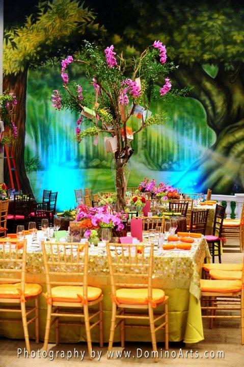 Beautiful Bat #Mitzvah #Decoration! #Photography by #DominoArts (www.DominoArts.com)