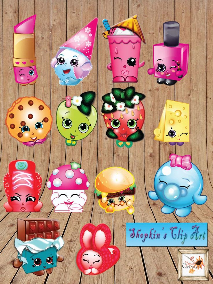 Shopkins printable party High Resolution Clip-Art for Microsoft word full set of 14 total! Instant Download by aFriendDesigns on Etsy https://www.etsy.com/listing/234635945/shopkins-printable-party-high-resolution