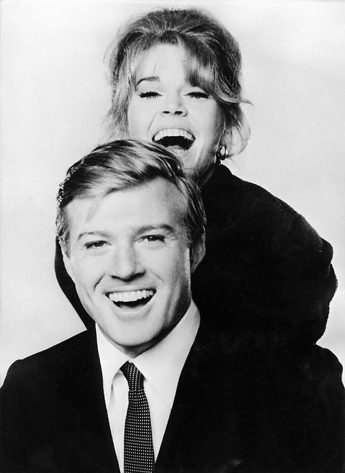 Robert Redford and Jane Fonda -- Barefoot in the Park