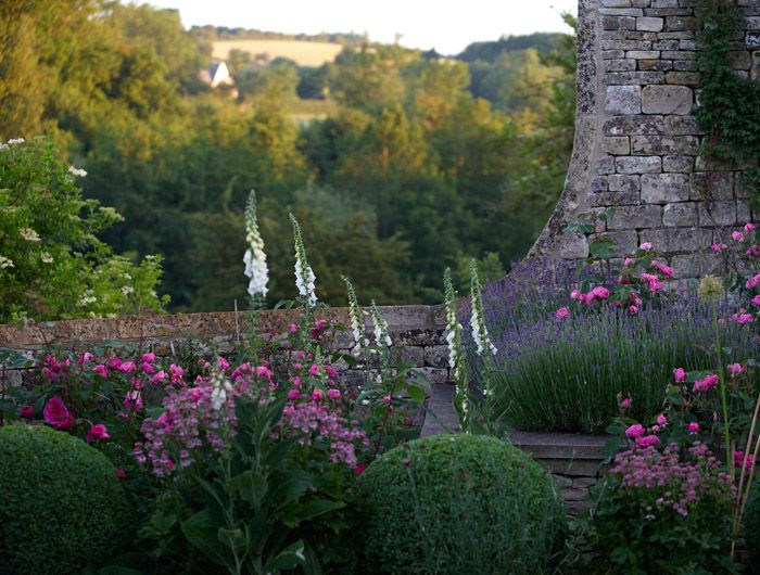 Cotswold Garden by Jinny Blom.  Check our her portfolios at the web site - bee-a-uuu-tiful photos of English gardens that are inspirational to gardners but also just plain wonderful to look at.