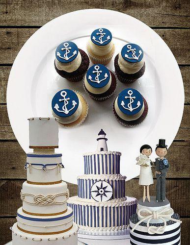 nautical cakes | Flickr - Photo Sharing!