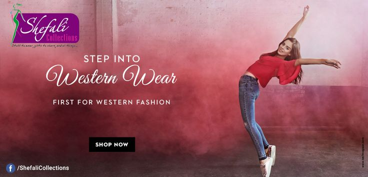 Western Wear @ Shefali Collections.. Step into western wear now !! #ShefaliCollections #Clothes #Fashion #Brand #Style #Dresses #WesternWear