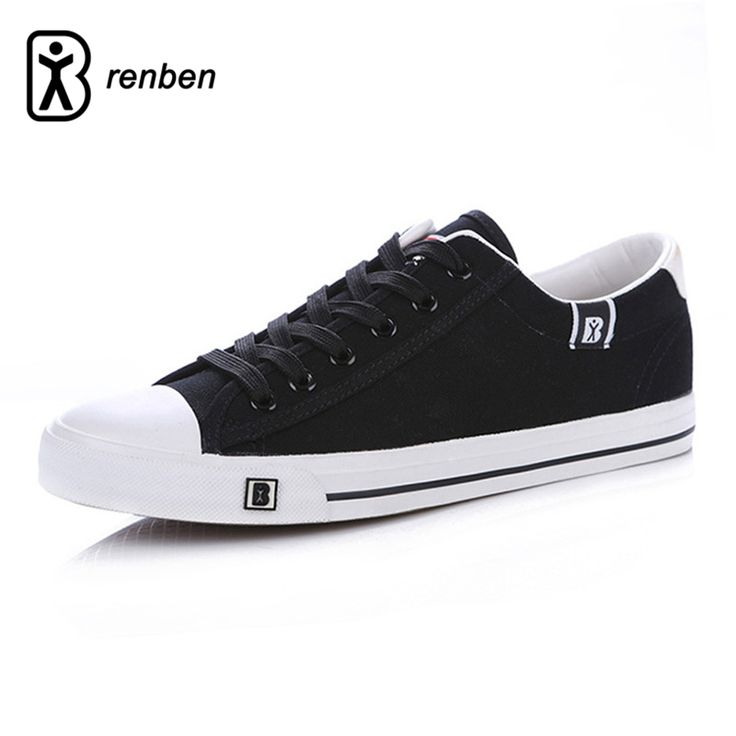 ==> [Free Shipping] Buy Best RenBen Flats Casual Shoes Men Fashion Canvas Simple Lightweight Loafers Male Shoes Man Breathable Durable Shoes zapatos hombre Online with LOWEST Price | 32817878273