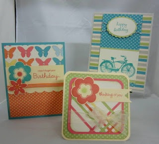 Card ideas using CTMH Dotty For You collection