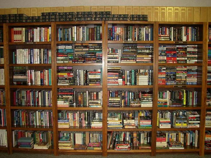 Library Organizing Strategy - http://www.lifestyle-ideas.com/library-organizing-strategy/