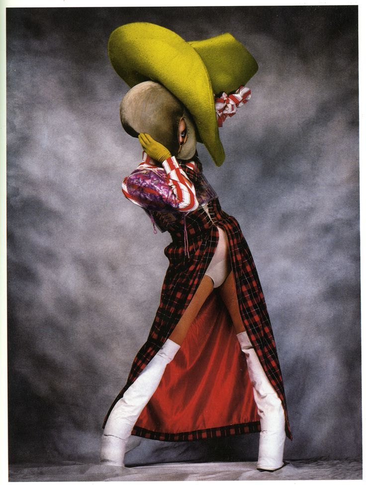 If fashion in general could be inspired by Leigh Bowery, we'd have a much more beautiful world.