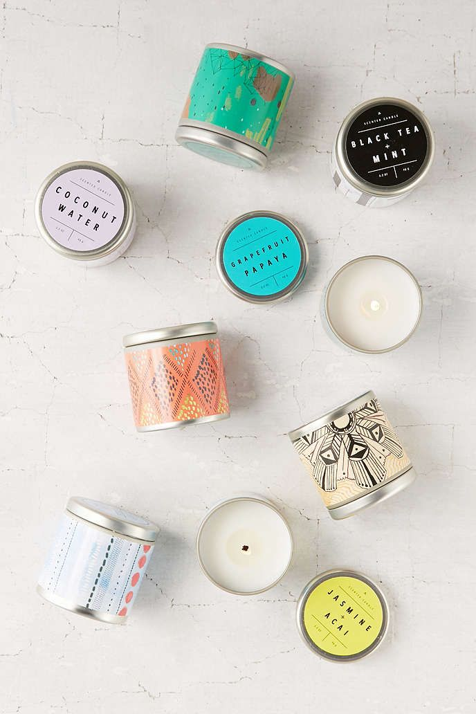 Printed Tin Candle - Urban Outfitters