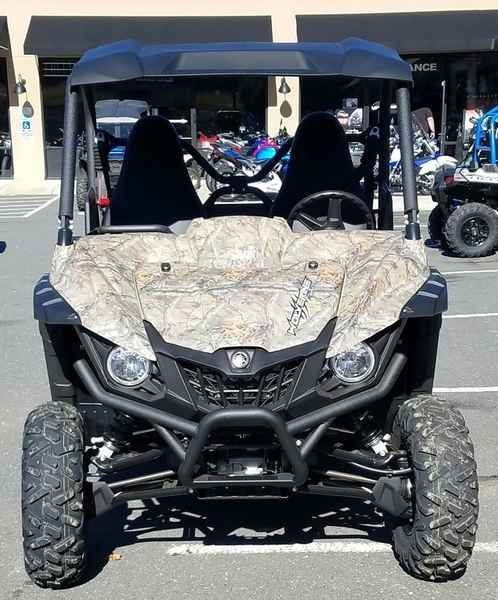 New 2017 Yamaha Wolverine R-Spec EPS Realtree Xtra w/Sun ATVs For Sale in North Carolina. 2017 Yamaha Wolverine R-Spec EPS Realtree Xtra w/Suntop, 2017 Yamaha Wolverine R-Spec EPS Realtree Xtra w/Suntop ULTIMATE TERRAIN TAMER The terrain-taming Wolverine R-Spec EPS all but begs to tackle, explore and conque extreme terrain. Features may include: Supreme Off-Road Capability The Wolverine R-Spec EPS features an aggressive, compact look and is designed to be the most capable off-road recreation…