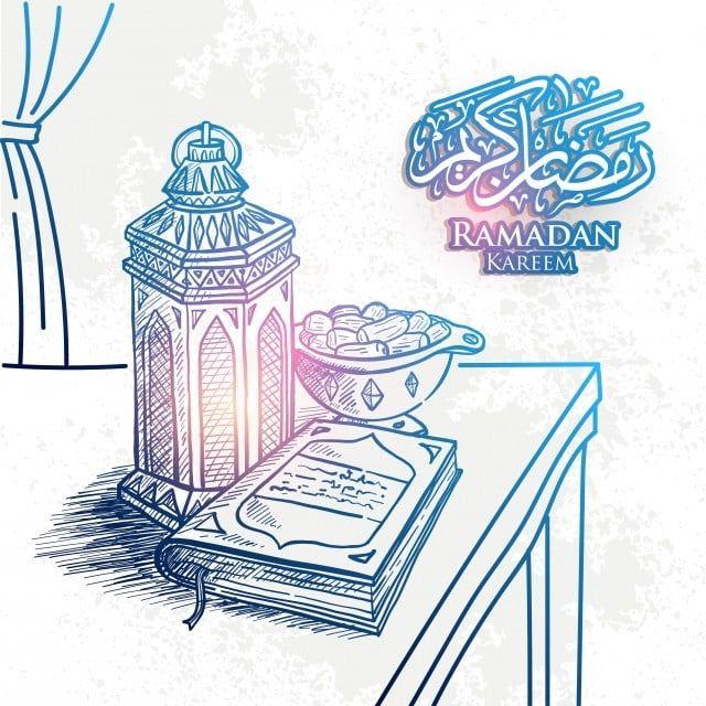 Gambar Lakaran Ilustrasi Vektor Lukisan Lengan Ramadan Kareem Yang Ditarik Tangan Dengan Tarikh Warna Penggredan Warna Berkulit Berwarna Dengan Latar Belakang G How To Draw Hands Hand Sketch Ramadan Kareem Vector