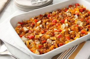 Cheesy Chicken & Potato Casserole Recipe - Kraft Recipes
