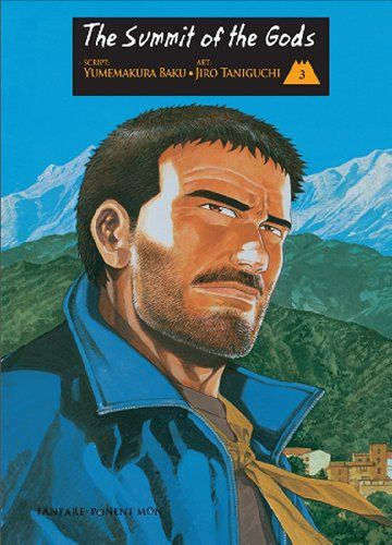 The Summit of the Gods: Volume 3 (of 5) by Jiro Taniguchi http://www.amazon.com/dp/8492444339/ref=cm_sw_r_pi_dp_BLc5tb0EHWPET