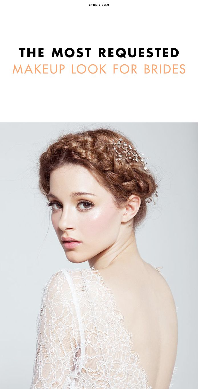 This is most requested bridal makeup look of 2015