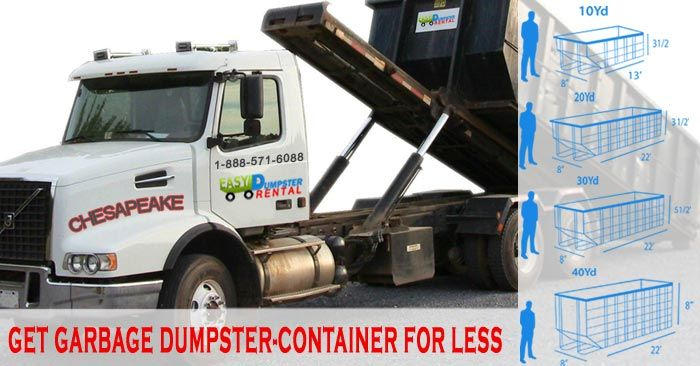 Chesapeake, VA at Easy Dumpster Rental Dumpster Rental in Chesapeake,Virginia Get GarbageDumpster-ContainerFor Less Click To Call 1-888-792-7833Click For Email Quote Why We Can Provide Great Rolloff Service In Chesapeake: Providing outstanding customer service is what we do best at Easy Dumpster Rental. The client always comes fi... https://easydumpsterrental.com/virginia/dumpster-rental-chesapeake-va/
