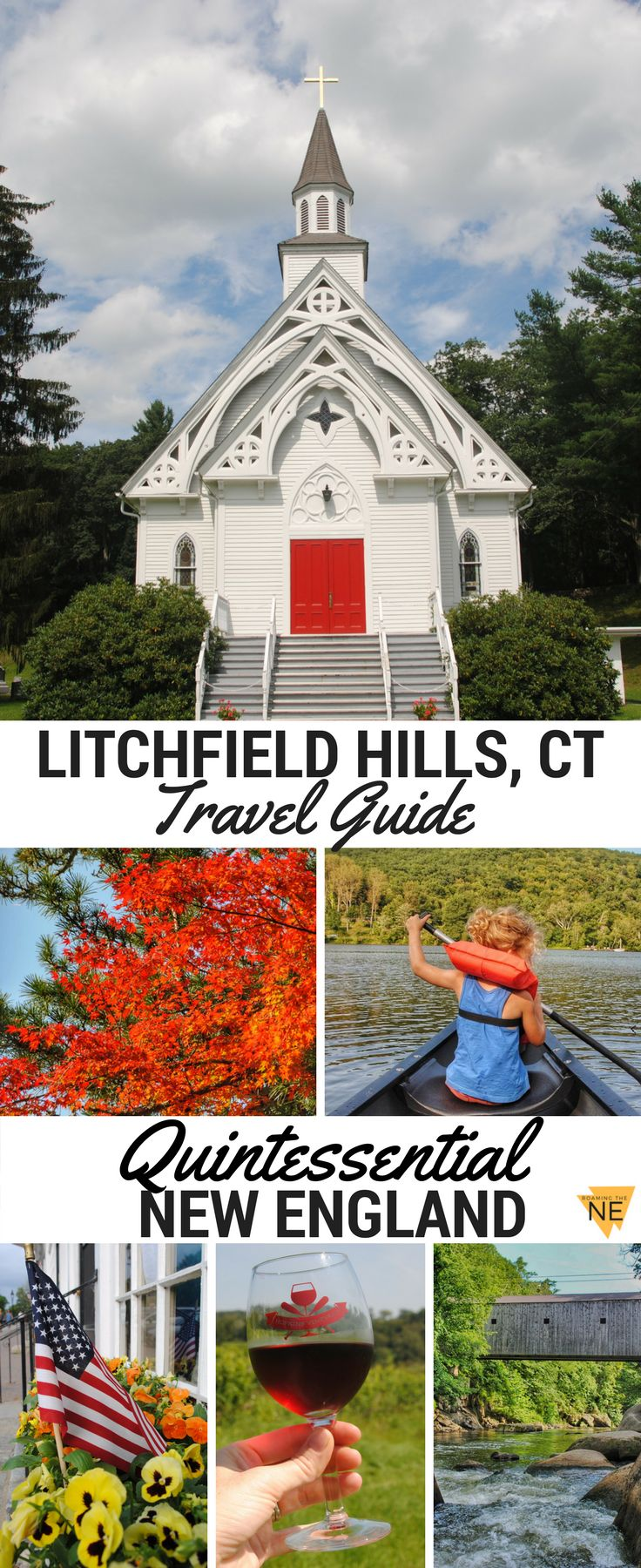 New England travel at its finest!  The Litchfield Hills in Northwest CT has so much to offer: fall foliage, a wine tour, hiking, waterfalls, and (of course!) covered bridges. Here you'll find a travel guide complete with where to stay, where to eat, and w