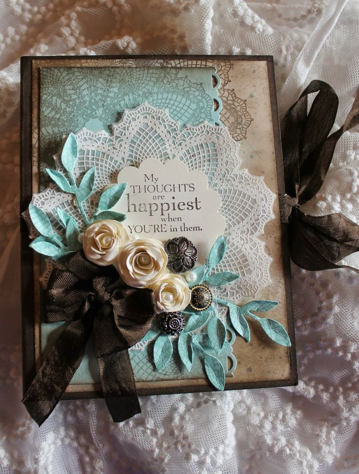 Wendys World of Stampin Up Here: My Thoughts Mini Album Part Two
