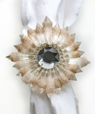 Etoile Napkin Ring transitional-napkins