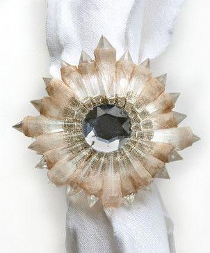 Etoile Napkin Ring transitional-napkins