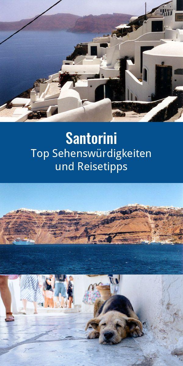 Entstanden Ist Die Insel Santorini Aus Einem Vulkan Der Ihr Die