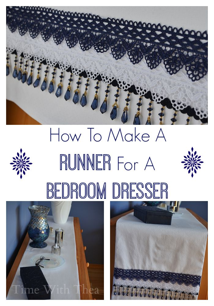 How To Make A Runner For A Bedroom Dresser | Bedroom dressers, Dresser and  Bedrooms - How To Make A Runner For A Bedroom Dresser Bedroom Dressers