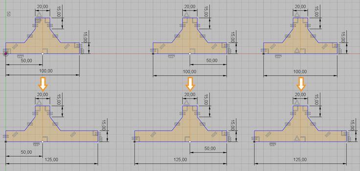 Fusion360 - Rozdíly v náčrtech