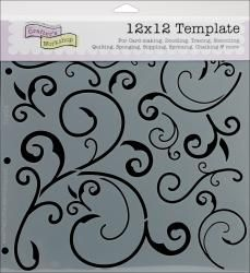 Crafter's Workshop Templates 12- my accent wall by front door or dining room wall.
