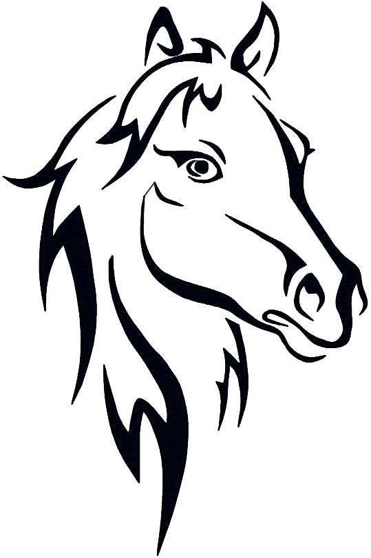 149 besten Horse siluets, graphic, tatoo, stencils Bilder auf ...