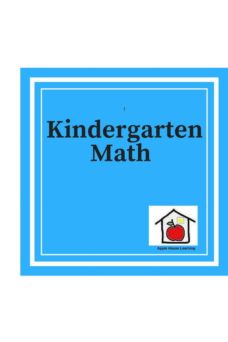 12 best Kindergarten Math images by Apple House Learning on ...