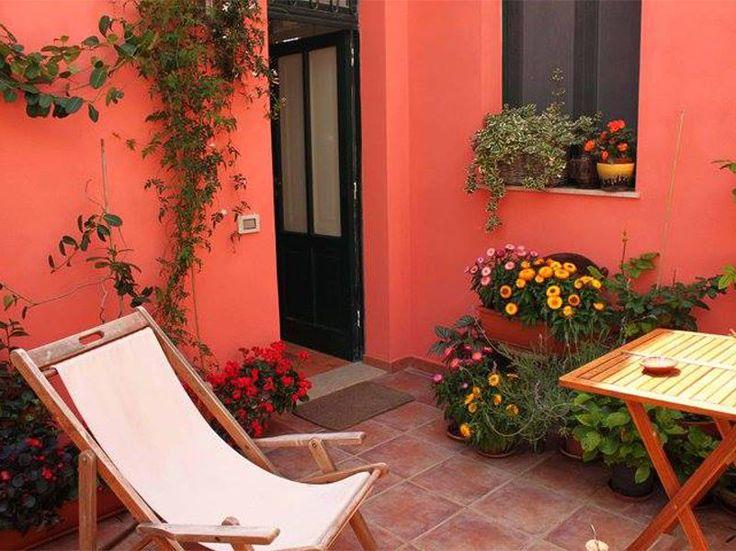 Relax nel terrazzino privato
