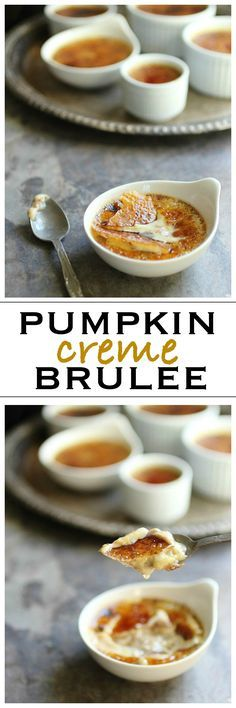 creme brulee with white chocolate pumpkin creme brulee white chocolate ...