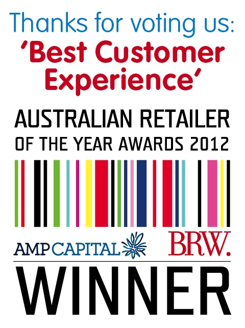 """Aussie #Farmers Direct has been awarded """"Best #Customer #Experience"""" at the #BRW AMPCSC #Australian #Retailer of the Year #Awards 2012 as voted by the public."""