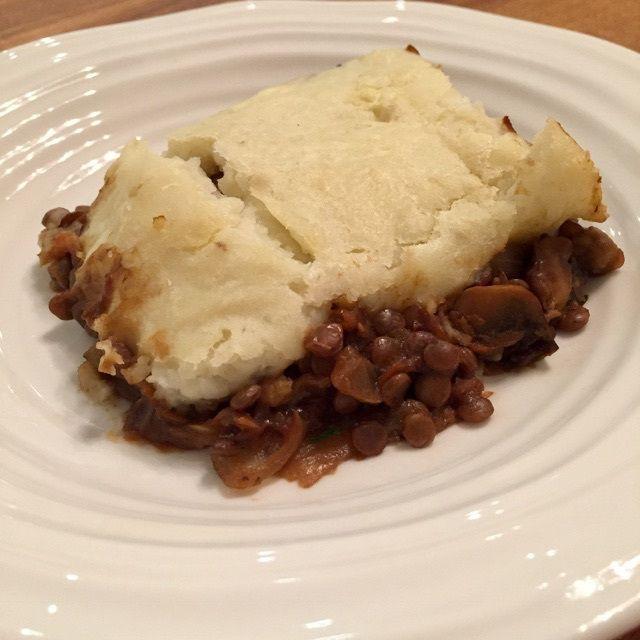 vegan shepherd's pie - veganleeks.com
