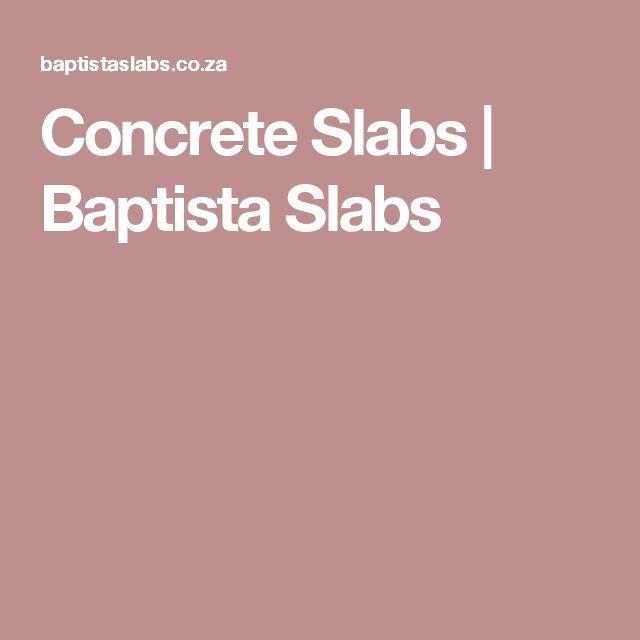 Concrete Slabs | Baptista Slabs