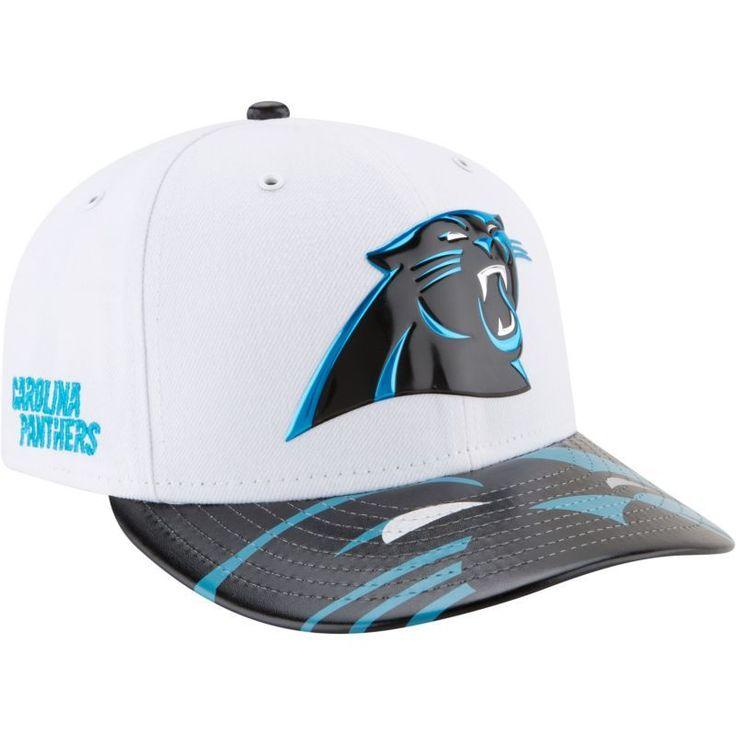 New Era Men's Carolina 2017 Draft 59Fifty Fitted White Hat, Size: 7 1/4, Team
