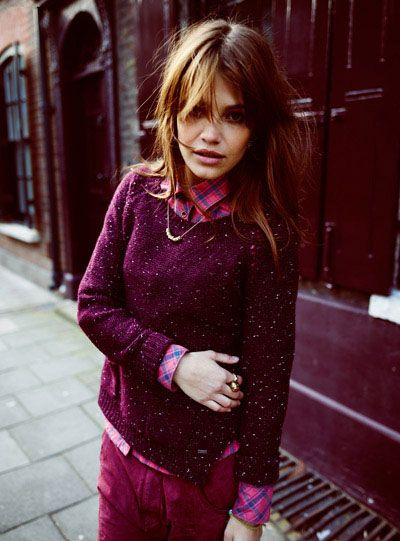 Love everything about this. Especially that everything is fuschia! Maison Scotch Collection | Scotch & Soda