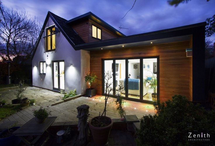Remodeling of 1920's Bungalow - Oxfordshire    http://www.zenitharchitecture.com/residential/oxford_bungalow_extension.html